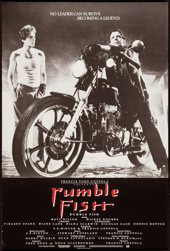 RUMBLE FISH - American Poster 2