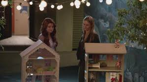 Amy and Karma dollhouses