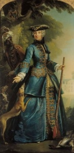 18th-Century Ornate Riding Habit