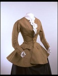 Women's Riding Coat, 1750s. Image V&A Museum.