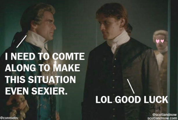 i need to comte along to make this situation sexier