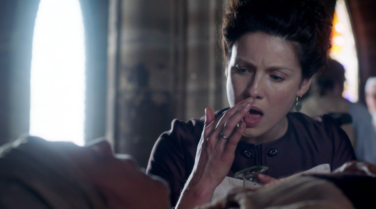 Outlander_2.03_Useful_Occupations_and_Deceptions_urine_tasting-768x427